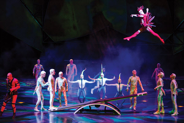 Cirque du Soleil Mystere - Photo credit: Matt Beard