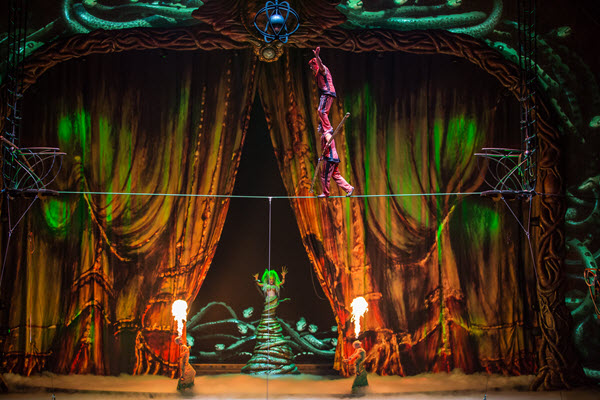 Cirque du Soleil Zarkana - Photo credit: Matt Beard
