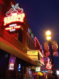 The Second Fiddle Honky Tonk bar - Nashville, Tennessee