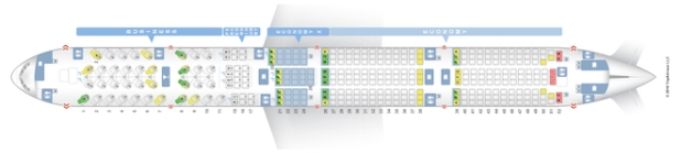 Virgin Australia Boeing 777-300ER seat map - Courtesy Seatguru.com