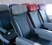 Virgin Australia Extra Leg Room seating options.