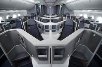 American Airlines 787 Business Class interior