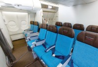 Hawaiian Airlines Extra Comfort cabin