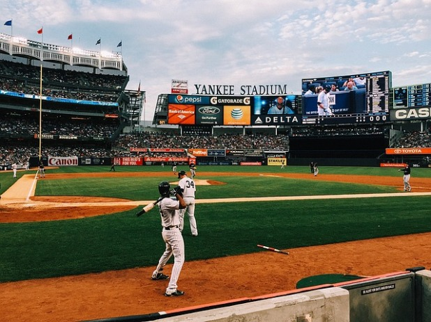 Yankee Stadium baseball field