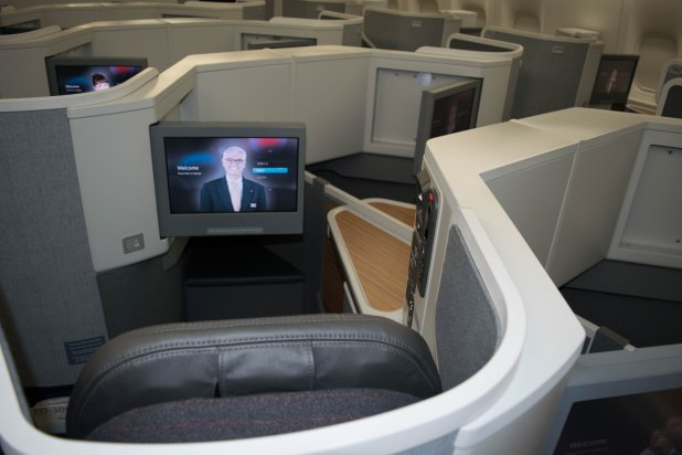 American Airlines Business Class Cabin (Image: Jason Dutton-Smith)