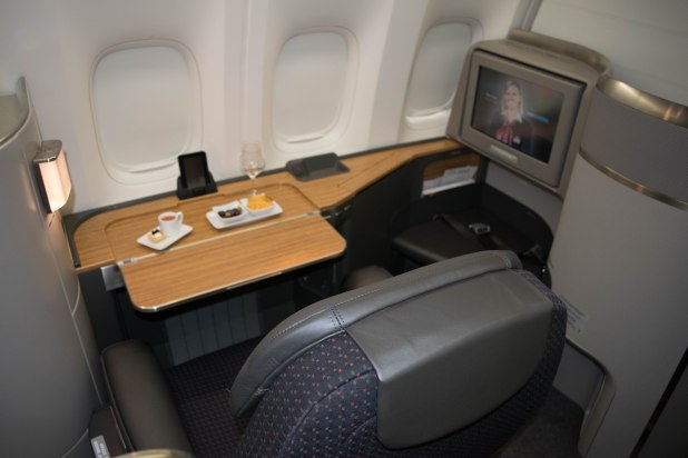 American Airlines First Class Cabin (Image: Jason Dutton-Smith)