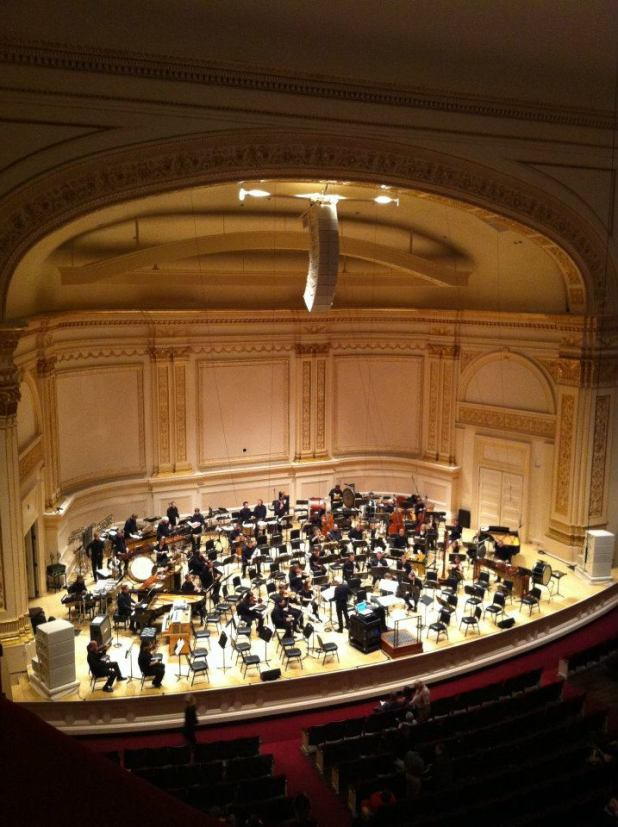 Carnegie Hall - New York City. Image: Jason Dutton-Smith