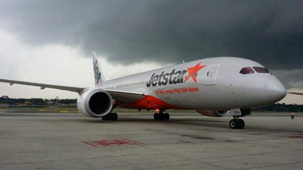 Jetstar 787 Dreamliner (Image: Jetstar)