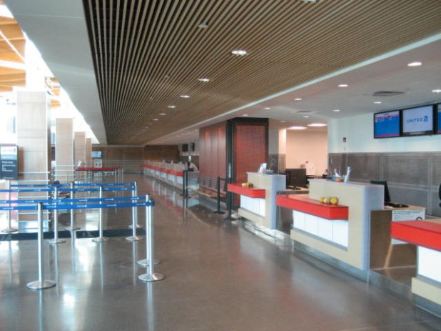 Central Wisconsin Airport Check-in Area. Image courtesy: CWA
